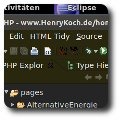 Eclipse Programmierumgebung Dunkel