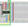 Arduino Nano - MCP42010 001_Steckplatine