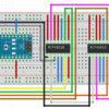 Arduino Nano - MCP42010 Steckplatine Fritzing