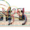 Arduino Nano - MCP42010 kaskadiert_auf_Steckplatine